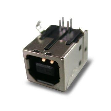 Gniazdo USB typu B do druku Czarne