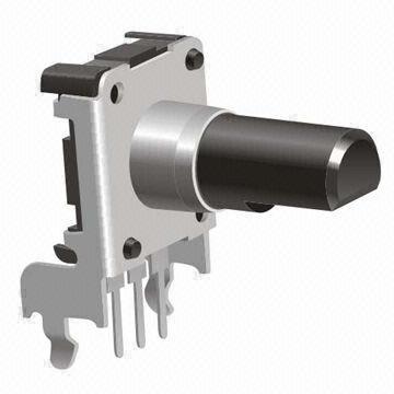 Enkoder 24 impulsy l=14mm EC16 poziomy