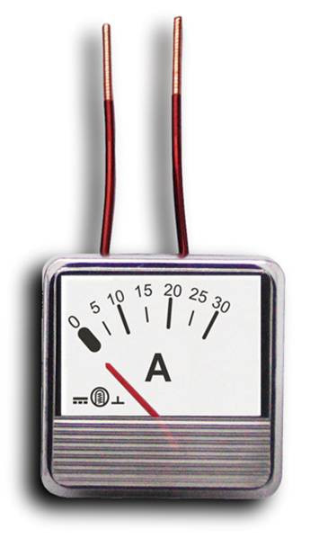 Miernik analog.panel amperomierz 30A MP