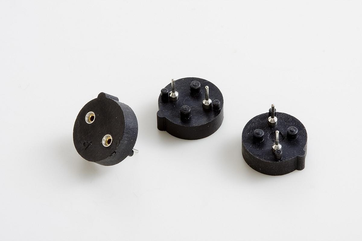 Podstawka 2 PIN precyzyjna r=5.08mm
