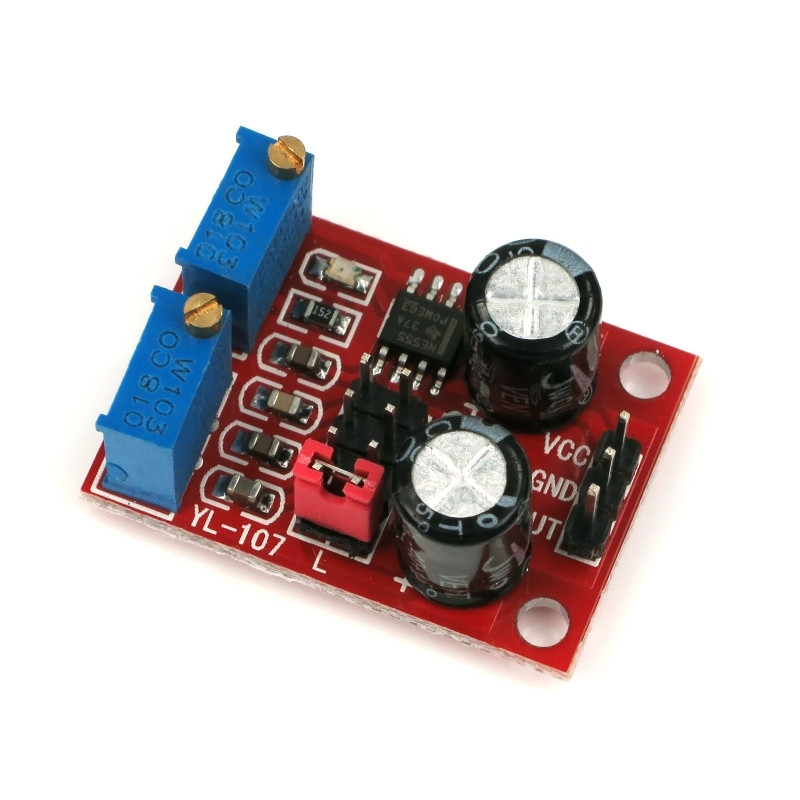 Moduł generatora sygnału prostokątnego NE555