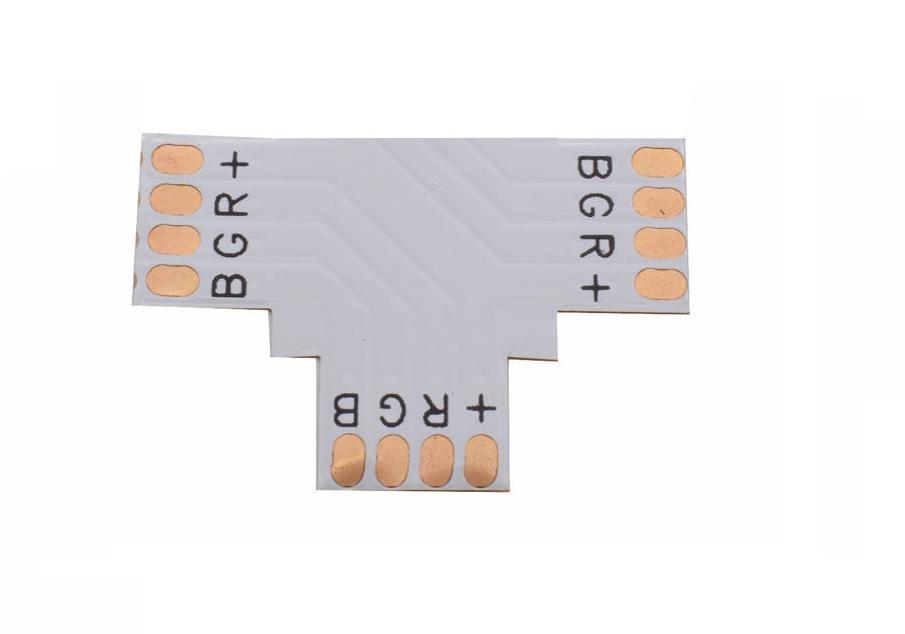 """Złączka taśm LED RGB typ """"T"""""""
