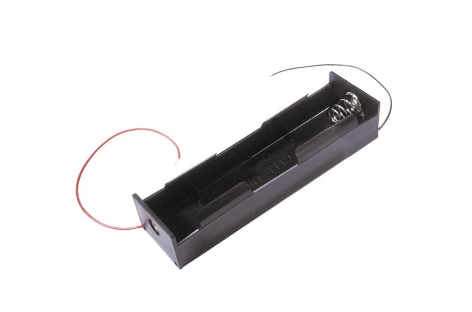 Koszyk na 2 baterie typu D pionowy