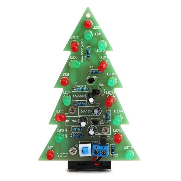 Choinka LED 9V (KIT- do samodzielnego złożenia)