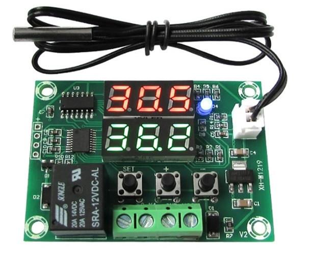 Sterownik temperatury 12V -50°C~110°C W1219