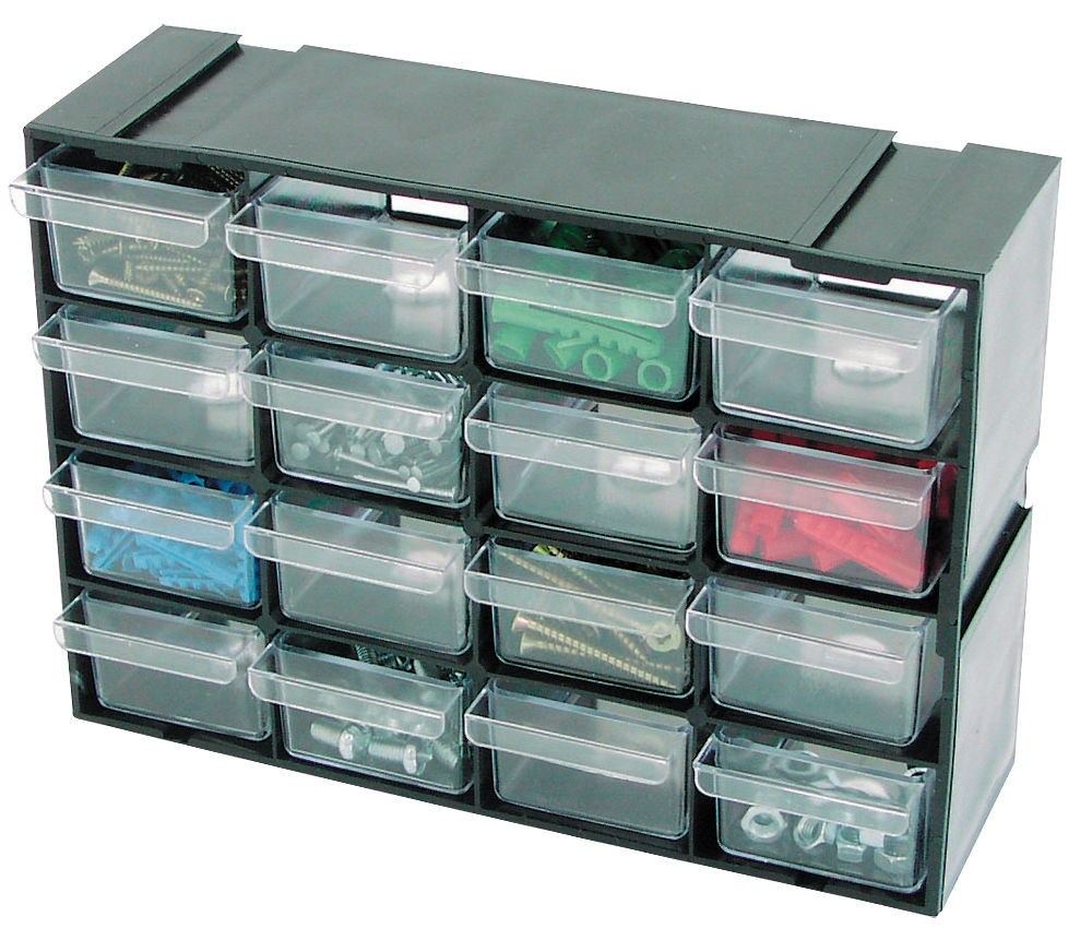 Organizer/szufladki 16szufladek OR43