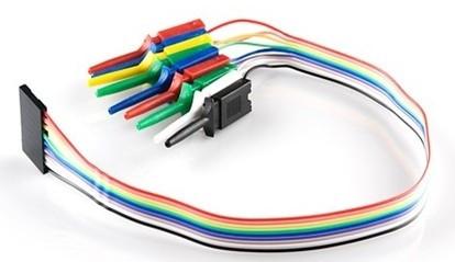 Kabel taśma żeński 10PIN z haczykam l=30cm