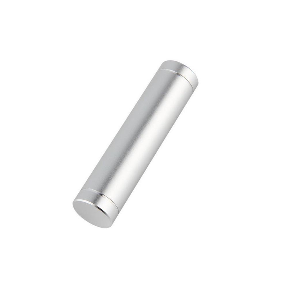 Obudowa powerbank na 1 akumulator 18650 (USB 5V 1A) srebrny