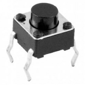 Tact Switch 6x6mm h=4.3mm opak=100 szt