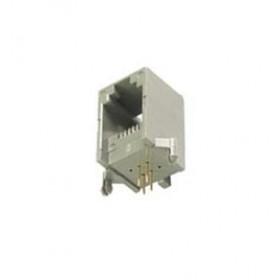 Gniazdo 6P4C boczne/kątowe h=14.5mm opak=100 szt
