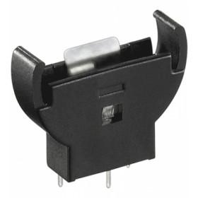 Podstawka baterii typu CR2032 (3V) pion.