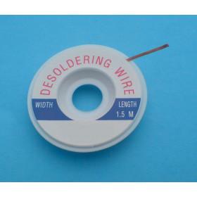 Plecionka do odsysania cyny szerokość= 2.5mm