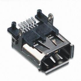 Gniazdo IEEE 6pin kątowe do montażu SMD