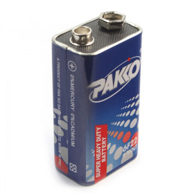 Bateria 6F22 9V PAKO