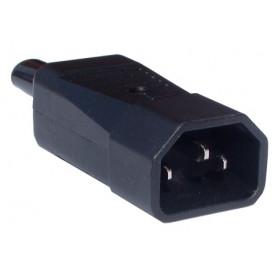 Wtyk AC IEC męski na kabel