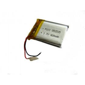Akumulator Li-Poly 400mAh 3.7V 1.6Wh