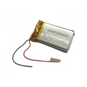 Akumulator Li-Poly 650mAh 3.7V 3.9Wh