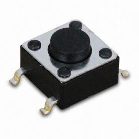 Tact switch SMD 6x6mm h=12mm opak=100 szt