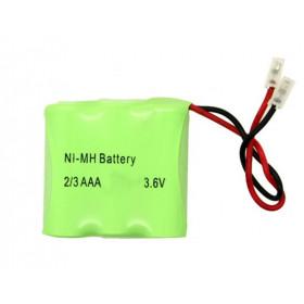 Akumulator NiMH 3V6 300mAh 3x 2/3 x AAA