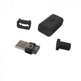 Wtyk micro USB typu B montowany na kabel