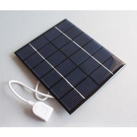 Ogniwo słoneczne 1W 5.5V OS5 USB 95x95x2.8mm