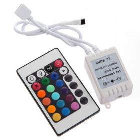 Sterownik taśm RGB z pilotem 24 klawisze