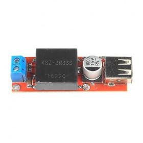 Przetwornica napięcia 7-24V -> 5V 4A gniazdo USB