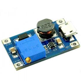 Przetwornica napięcia Step-Up. micro USB