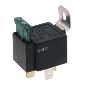 Przekaźnik samochodowy NFVS-A30 12V 30A zwierny z bezpiecznikiem 30A