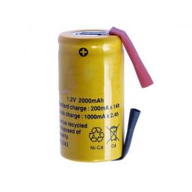 Akumulator NiCd 1V2 2000mAh SC