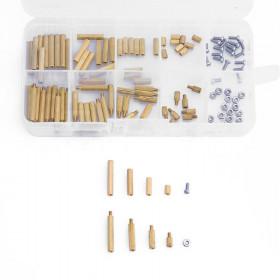 Zestaw 120szt elementów dystansowych M2 Z/W oraz W/W