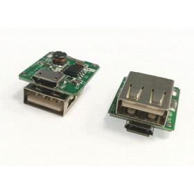 Przetwornica napięcia 3.7V->5V 800mA USB/micro USB