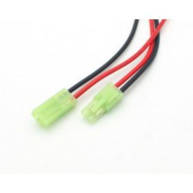 Kabel/złącze mini Tamiya wtyk+gniazdo, długość 40cm