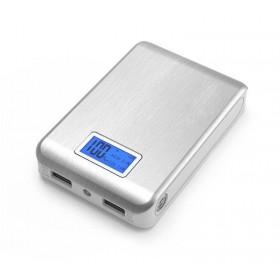 Obudowa powerbank na 4 akumulatory 18650 z LCD (2x USB 5V 1A oraz 5V 2.1A)