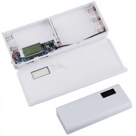 Obudowa powerbank na 5 akumulatorów 18650 z LCD (2x USB 5V 1A oraz 5V 2A)