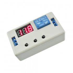 Moduł timera 12V z przekaźnikiem 1s-999min w obudowie