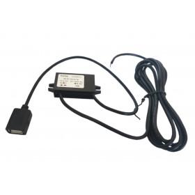 Przetwornica napięcia 12V -> 5V 3A gniazdo USB A