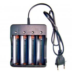 Ładowarka na 4 akumulatory litowe 18650