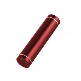 Obudowa powerbank na 1 akumulator 18650 (USB 5V 1A) czerwony