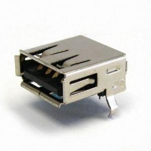 Gniazdo USB typu A do druku Czarne