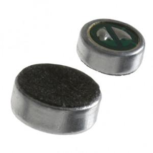 Mikrofon mini 38db h=2mm fi=4mm z kabelkami