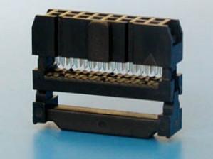 Gniazdo IDC 16 pin zaciskane na taśme opak=100 szt