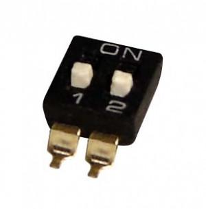 DIP Switch IC SMD x2 Czarny l=76szt