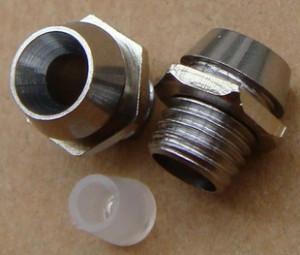 Oprawka LED 5mm metalowa opak=100 szt