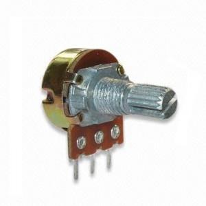 Potencjometr obrotowy 10K Ohm B (liniowy) l=15mm
