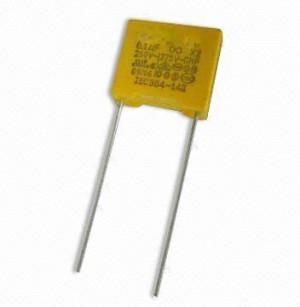 Kondensator MKP 100nF/275VAC R=10mm opak=100 szt