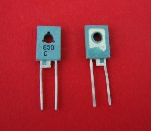 Dioda zenera 27V 1.2W TO126 BZP650-C27 opak=100 szt