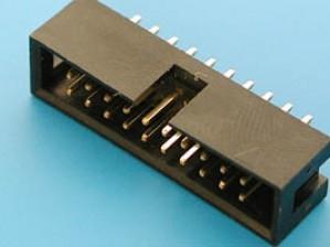 Wtyk IDC 20 pin prosty do druku opak=100 szt