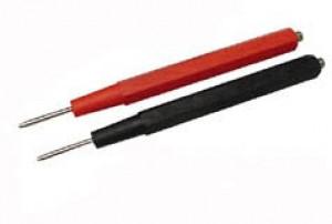 Sonda pomiarowa z gwintem AL7026 czerwon