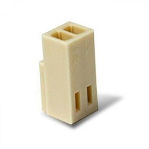 Obudowa gniazda na kabel 2 PIN r.2.54mm opak=100 szt